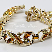 Vintage Coro Bracelet 1955 Elegance Collection