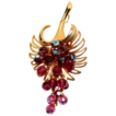 Vintage Parklane Cornucopia  Pendant Brooch