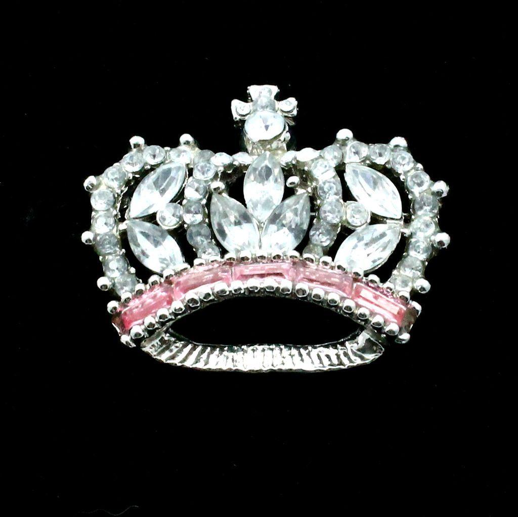 Pink Queen Crown Clip Art Vintage rhinestone crown