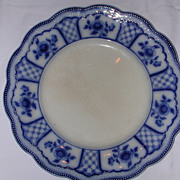 SALE W.H. Grindley Melbourne Flow Blue Plate.