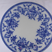 SALE Wedgwood Indiana Blue and White Plate.