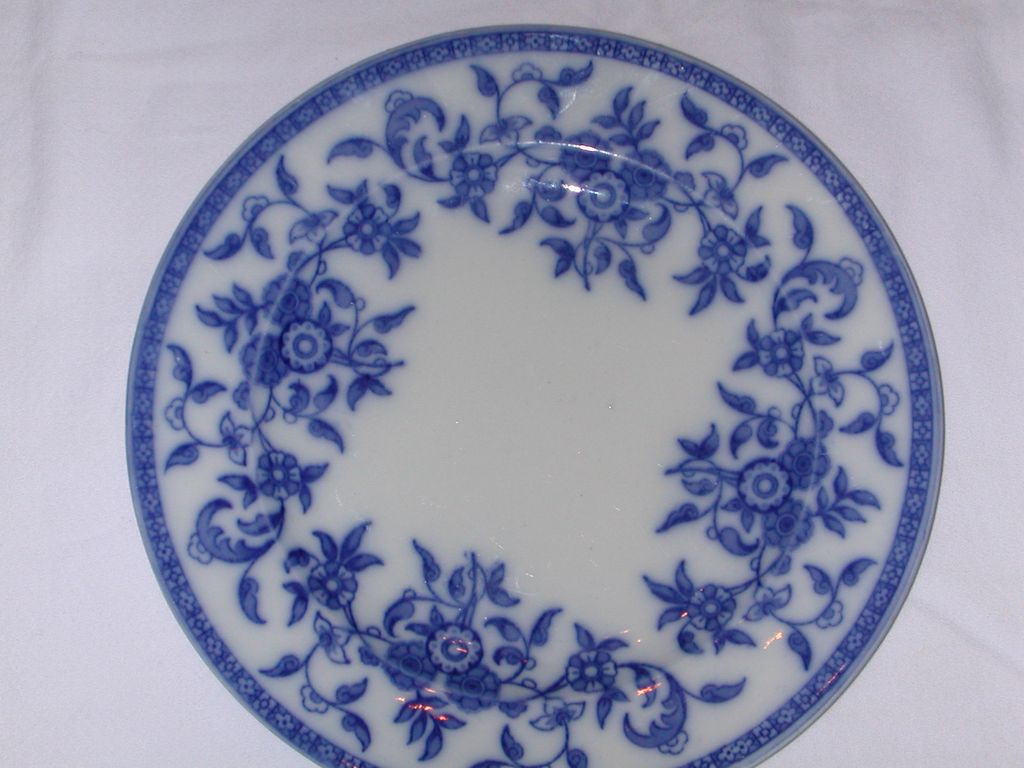 Wedgwood Indiana Blue and White Plate.
