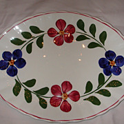 Blue Ridge Pottery Colette Platter.