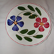 Blue Ridge Pottery Colette Bread and Butter Plate.