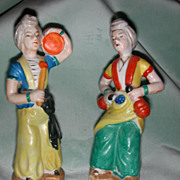 Pair of Occupied Japan Turkish/Arabian Motif Figurines
