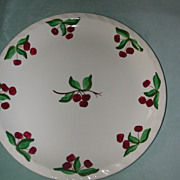 Blue Ridge Pottery Cherry Tree Glen Dinner Plate.