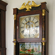 1836 J.Barnes Triple Decker SHELF Clock