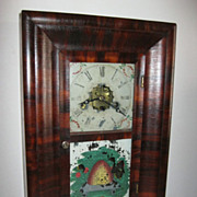1856 New Haven Clock Co. Miniature Ogee Shelf Clock