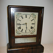 Noah Pomeroy  Bristol Connecticut Cottage Clock 1849  8-Day Hour Striking