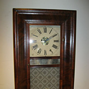 1844 Chauncey Jerome, New Haven 8 Day Striking 3 Tablet Ogee Clock