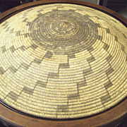 34 inch American Indian Basket Papago Tribe