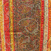 Kashmir Antique Shawl Hand Woven Wool Stripes