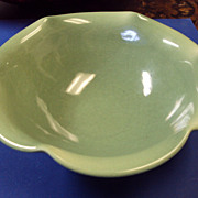 Rookwood Celadon / jadeite color Green Bowl shape 6349