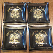 Charming Vintage Souvenir Ashtrays/Ring Holders From Villanova University