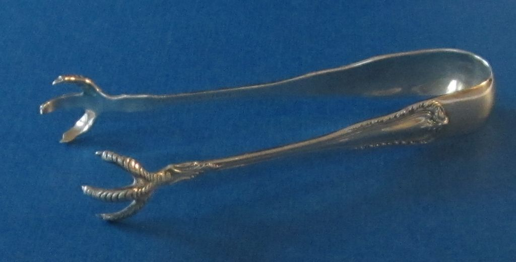 Sterling Silver Vintage Sugar Tongs