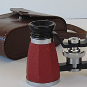 Vintage Binoculars with Case