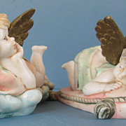 Adorable Vintage Pair of Cherubs