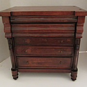 Salesman Sample Empire Chest of Drawers