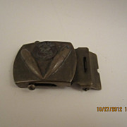 World War II Navy Belt Buckle