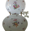 Dresden Floral 3 piece Place settings Union K  Czechoslovakia c 1929