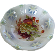 Vintage German Porcelain Fruit Bowl
