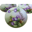 Set of 3 Hand painted Thomas Sevres Bavaria Cabinet Plates c 1908 artist signed