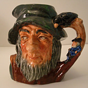 SALE Vintage Royal Doulton Large  Character Toby Jug RIP VAN WINKLE D 6438 Excellent