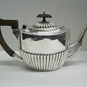 English Antique Small Sterling Tea Server by Charles Boyton