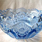 REDUCED Vintage LE Smith Large Bowl Quintec Light Blue