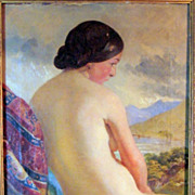 SALE JUNCKER K._ Seated Nude After Riedel August