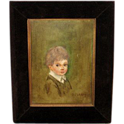 SALE J_O'Leary_Portrait_of_a_ Young_Boy