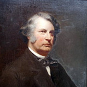 SALE Millan JF_19th c_Portrait of Charles Sumner