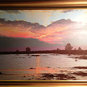 SALE Bredenkamp Henry_Sunset_South African Landscape.