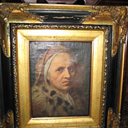 SALE VP_Vintage_ Print_on Canvas_Rembrandt