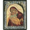 Vintage Religious Symbols- hagiography with provenance_24 gold plated  ByzantineIcon