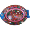 Hand-painted Decorative Fish-shaped Plate_Mexican/Central American Art