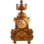 French Ormolu Mantle Clock