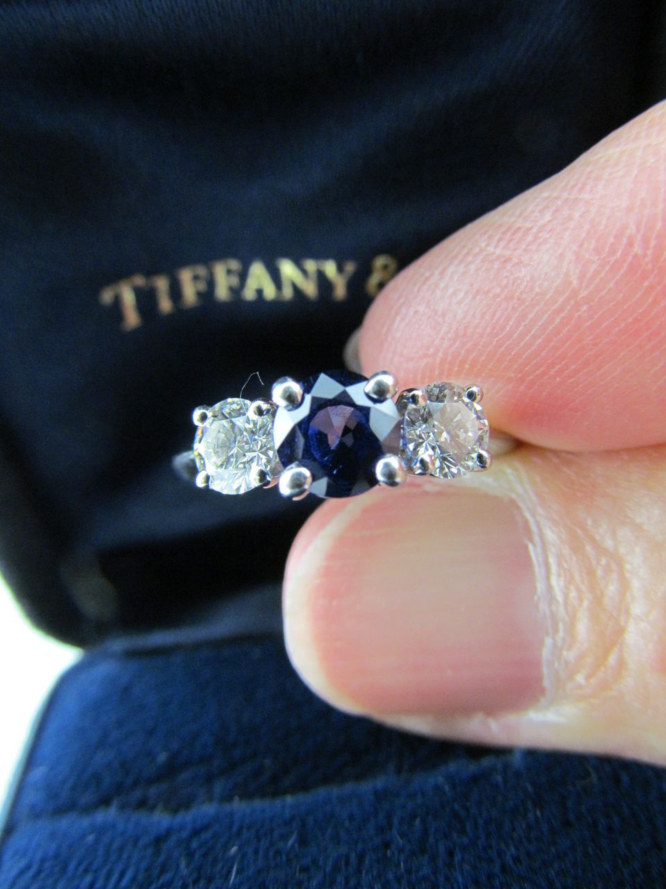 Wedding Bands Tiffany Wedding Ring With Sapphire