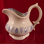 Ridgway  'Alhambra' Child's Toy China Creamer c. 1850 England