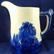 Vintage Tall Sleepy Eye Pitcher