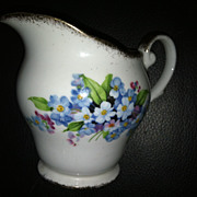 Royal Standard Forget Me Not Bone China Creamer