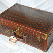 Louis Vuitton Antique Hardsided Suitcase