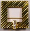 "TIFFANY Diamond 18K Gold Brooch - Beautiful ""Glamour"" Design!"