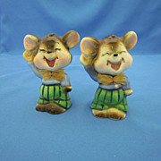 SOLD Pair of Mouse Figurines