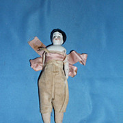 Porcelain Head/Cloth Body Doll