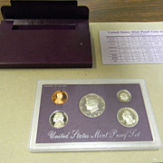 1989 US Mint Proof Coin Set