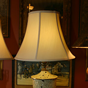 SALE Beautiful Porcelain Lamp