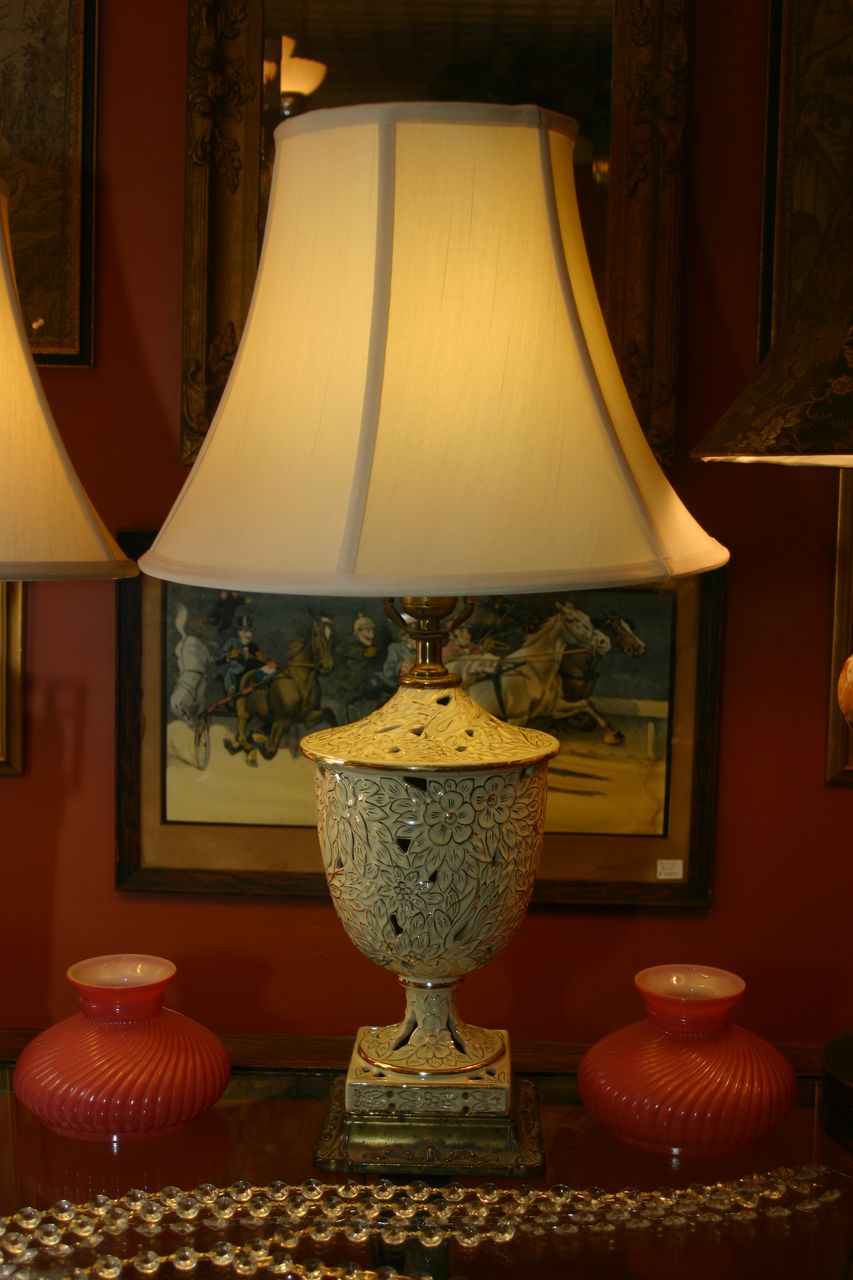 Beautiful Porcelain Lamp