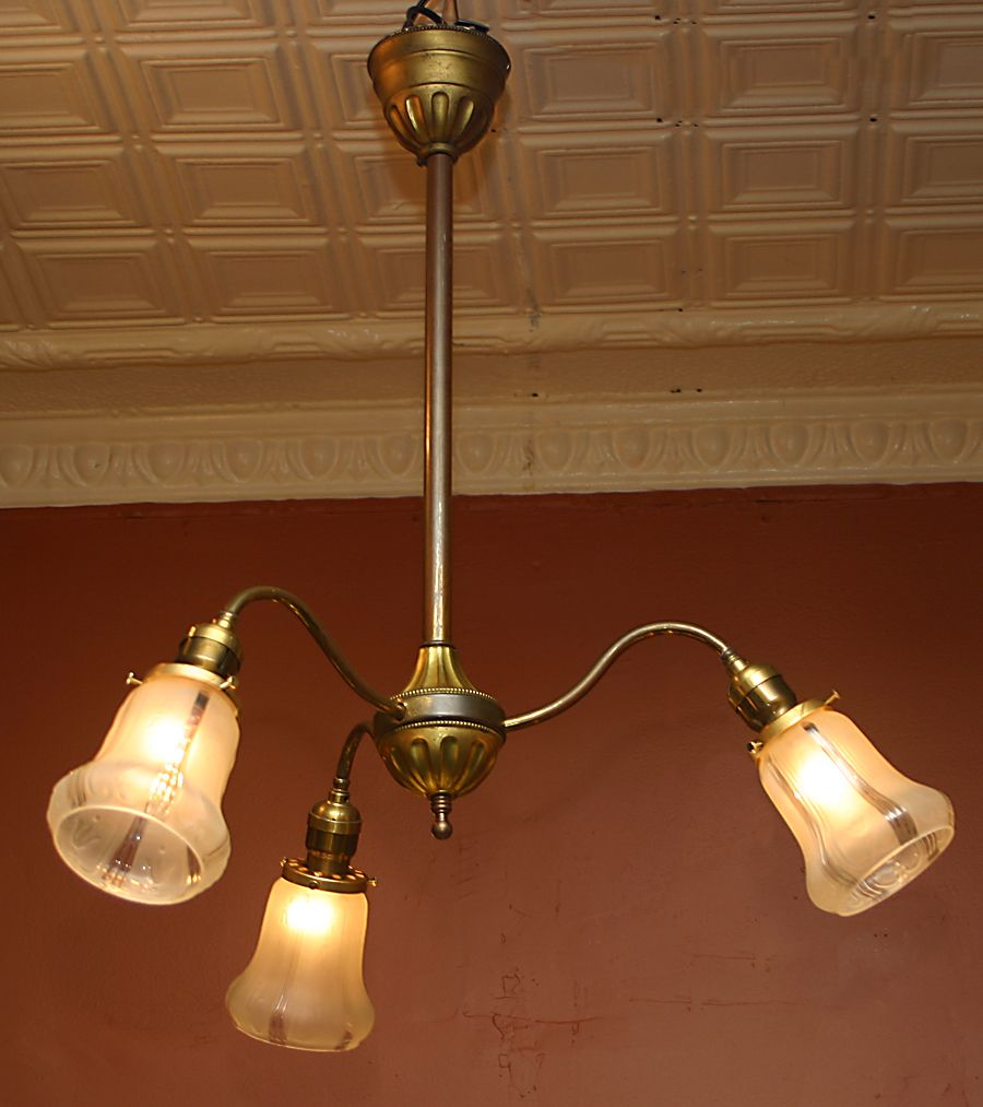 Early Electric Light Fixture