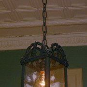SALE Hanging Lantern Late 1800's or Early 1900's
